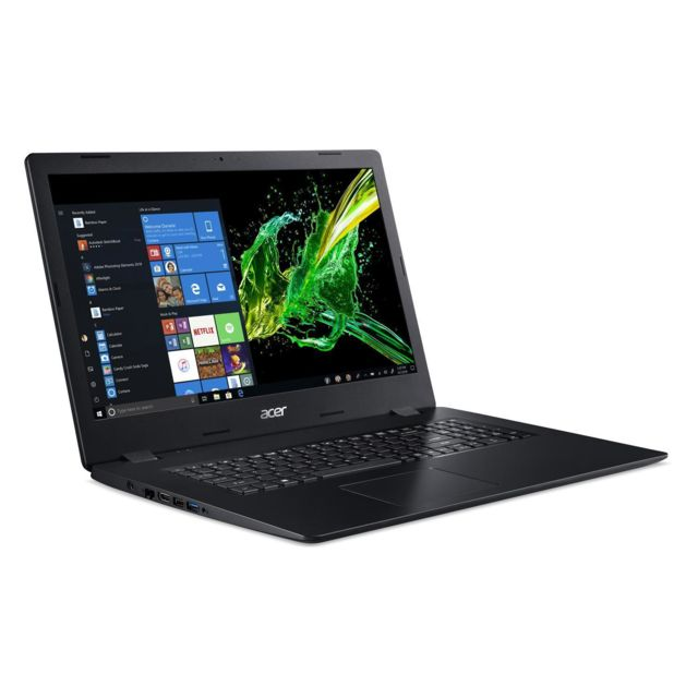 Acer - Aspire 3 A317-52-32CQ - Noir - PC Portable Acer