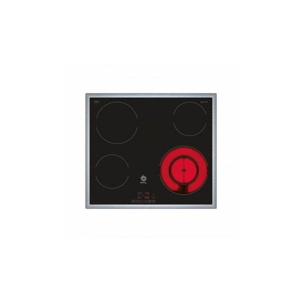 Balay Plaques vitro-céramiques Balay 3EB721XR 60 cm Noir Acier (4 zones de cuisson)