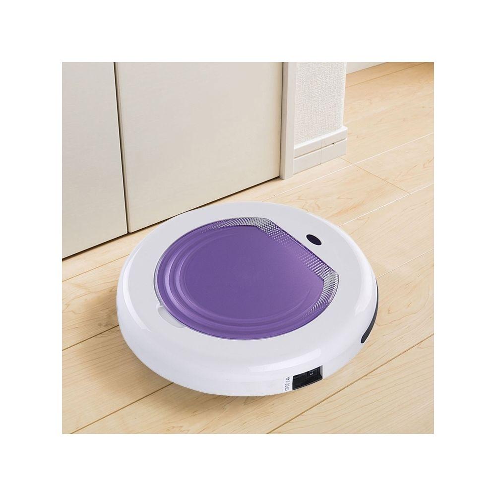 Wewoo Robot Aspirateur de nettoyage à balayage domestique TC-300 Smart pour violet