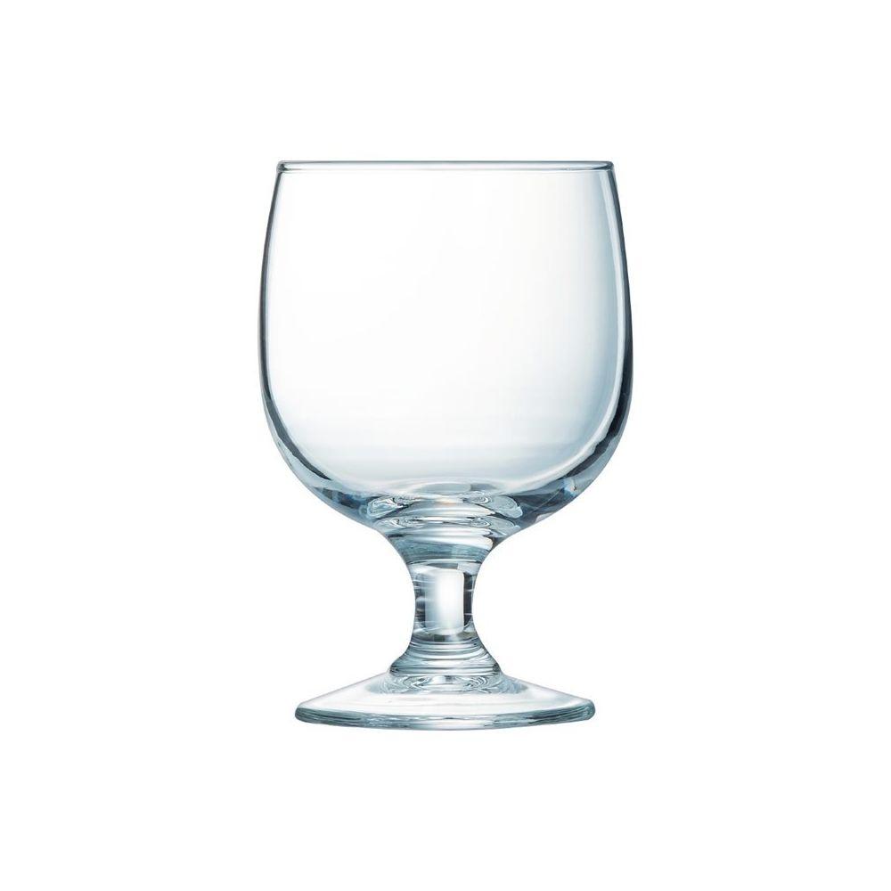 Arcoroc Verre à Vin pour Restaurant Empilable Trempé 19 cl à 25 cl - Amélia Arcoroc - Lot de 12 - Verre trempé