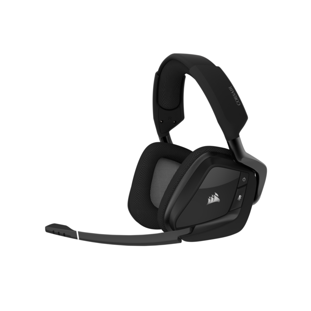 Corsair - VOID Pro RGB ELITE Wireless (noir) - Sans fil Corsair   - Micro casque reconditionné