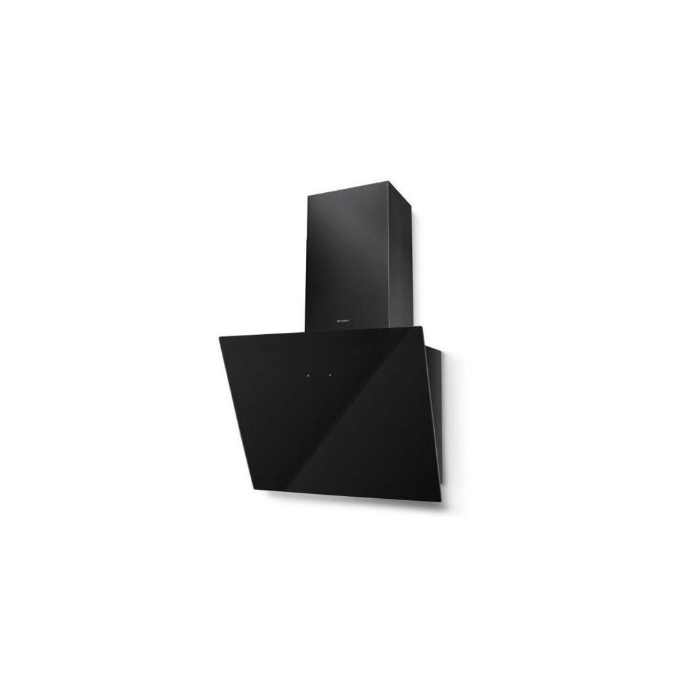 Faber Hotte Verticale Inclinée Tweet 550mm Verre Noir - Classe C - Débit Max Faber - 5476140