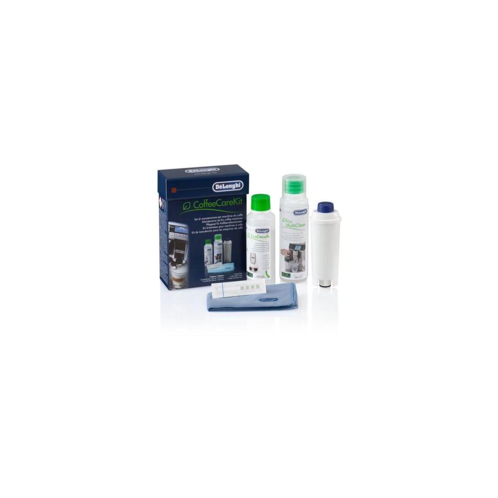 Delonghi DELONGHI 5513283501 SET DLSC306 COFFEECARE - kit d'entretien pour machine expresso