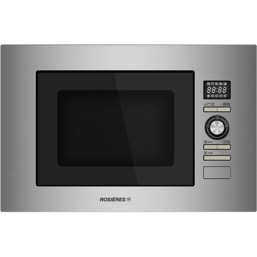 Rosieres rosieres - micro-ondes + gril encastrable 28l 900w inox - rmg281in