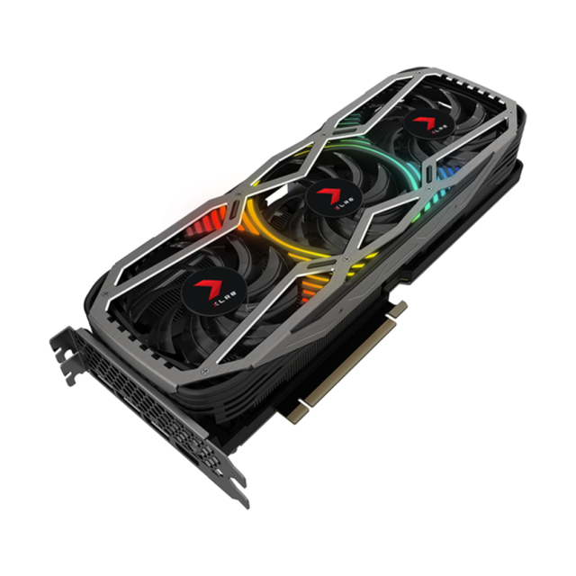 PNY - GeForce RTX 3070 XLR8 REVEL EPIC-X RGB - Triple Fan Edition - 10Go - NVIDIA GeForce RTX 3070