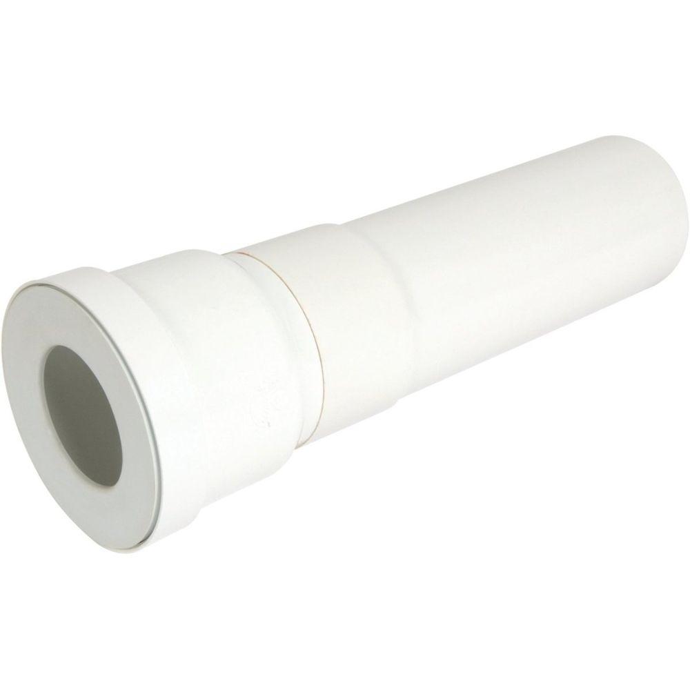 Nicoll pipe longue pour wc - diamètre 100 mm - longueur 400 mm - droite - nicoll qw3340