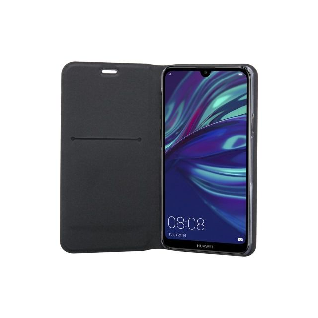 Bigben - Flip Stand pour Huawei Y7 2019 - Noir - Accessoires Huawei