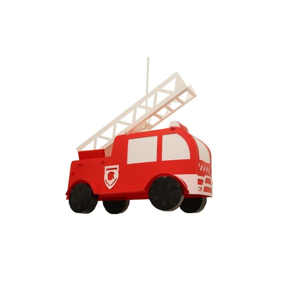 Rosemonde Et Michel POMPIER-Suspension Camion de Pompier Polypropylène L42cm Rouge Rosemonde et Michel Coudert