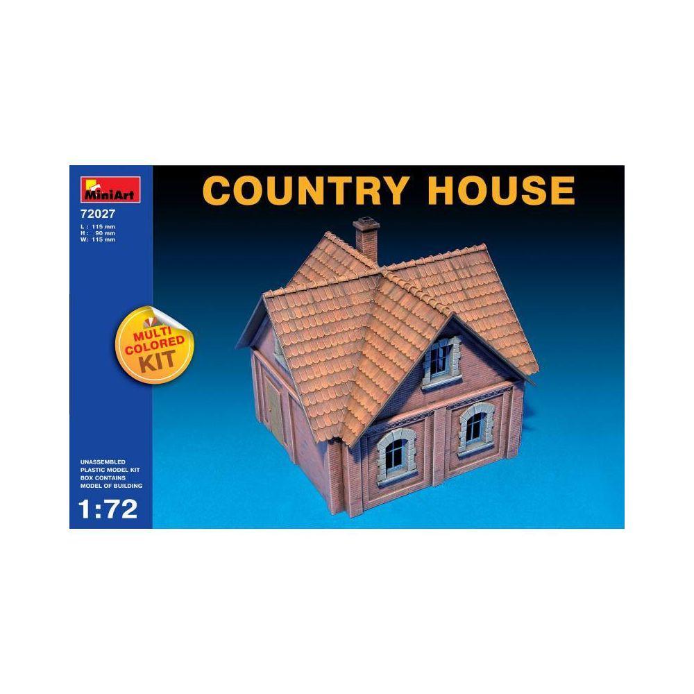 Mini Art Country House - Décor Modélisme