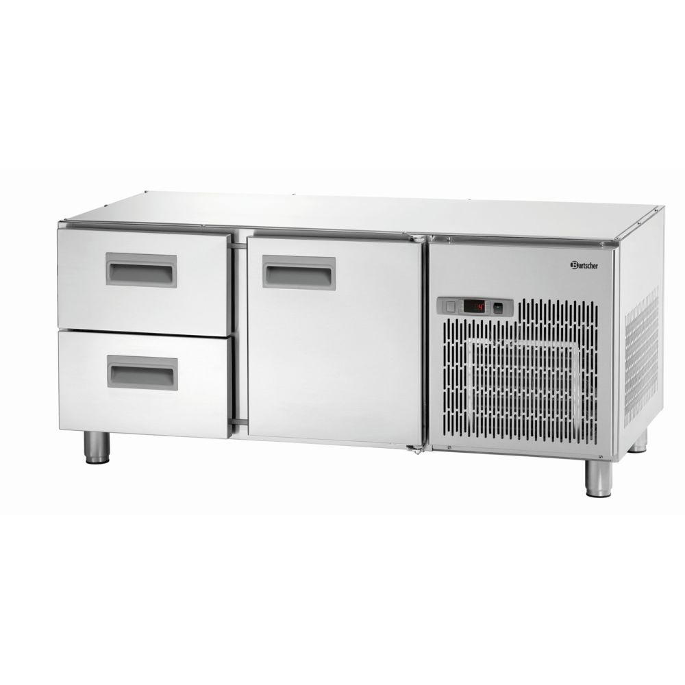 Bartscher Table refrigeree de soubassement 1400T1S