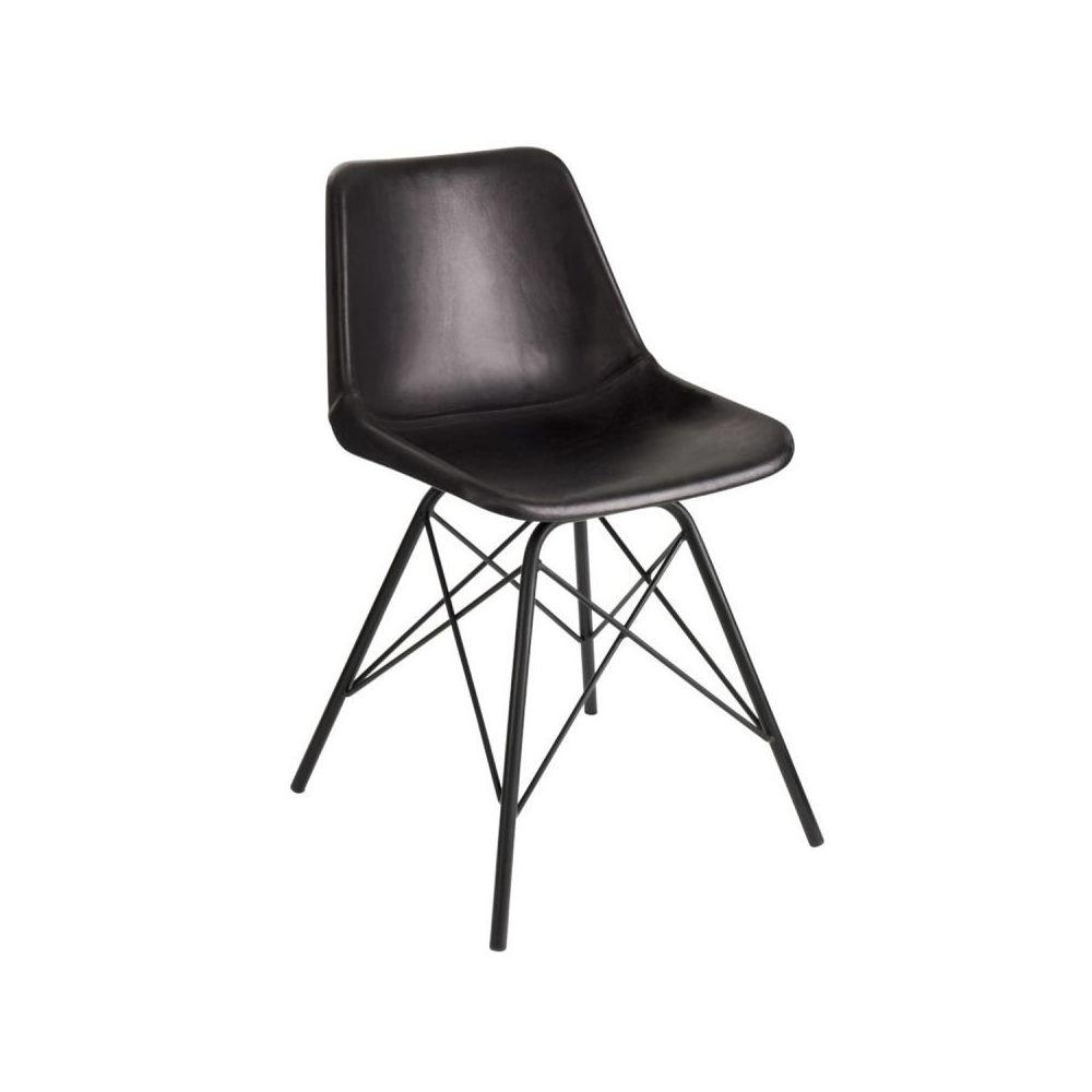 Paris Prix Chaise Design Cuir & Métal \