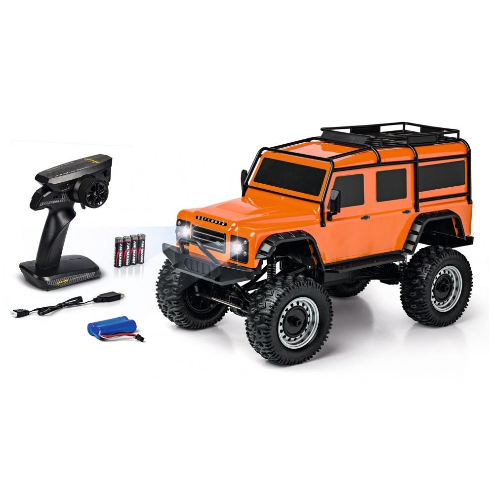 CARSON Land Rover Defender 1/8 RTR Orange
