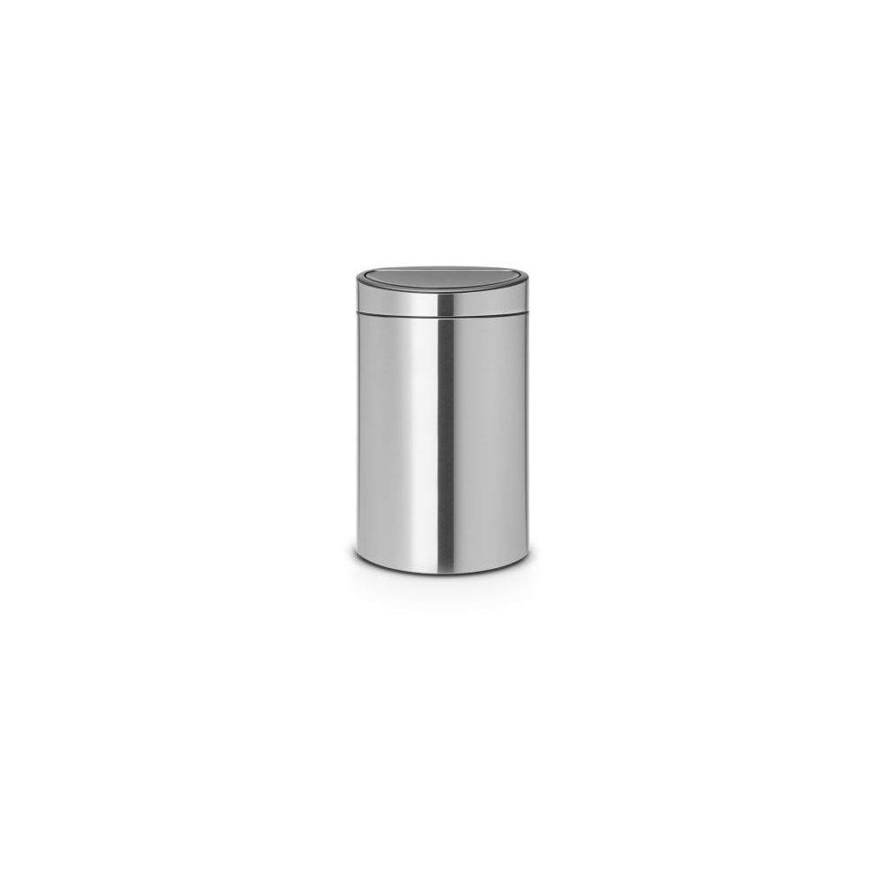 BRABANTIA Poubelle manuelle BRABANTIA Touch bin 40L Matt Steel