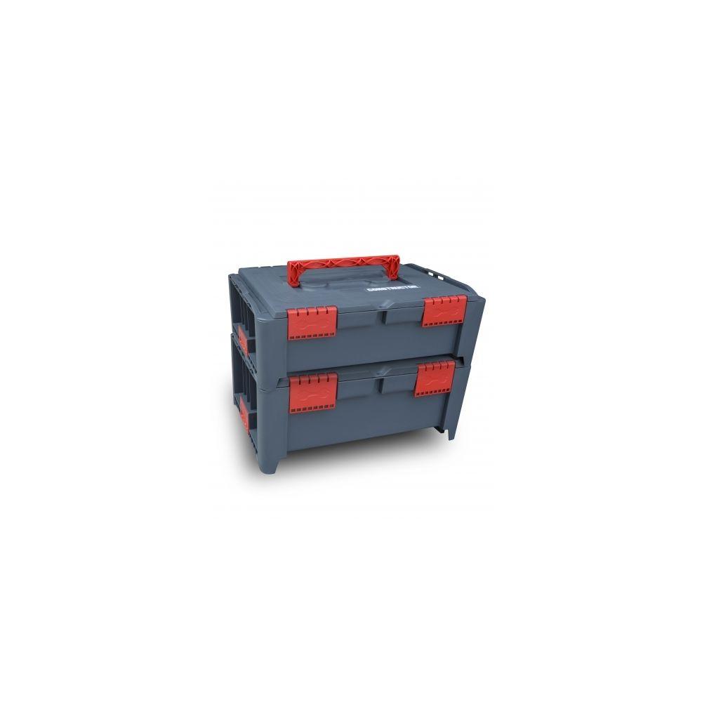Constructor Lot de 2 coffrets empilables BEPS1 + BEPS2 - Const
