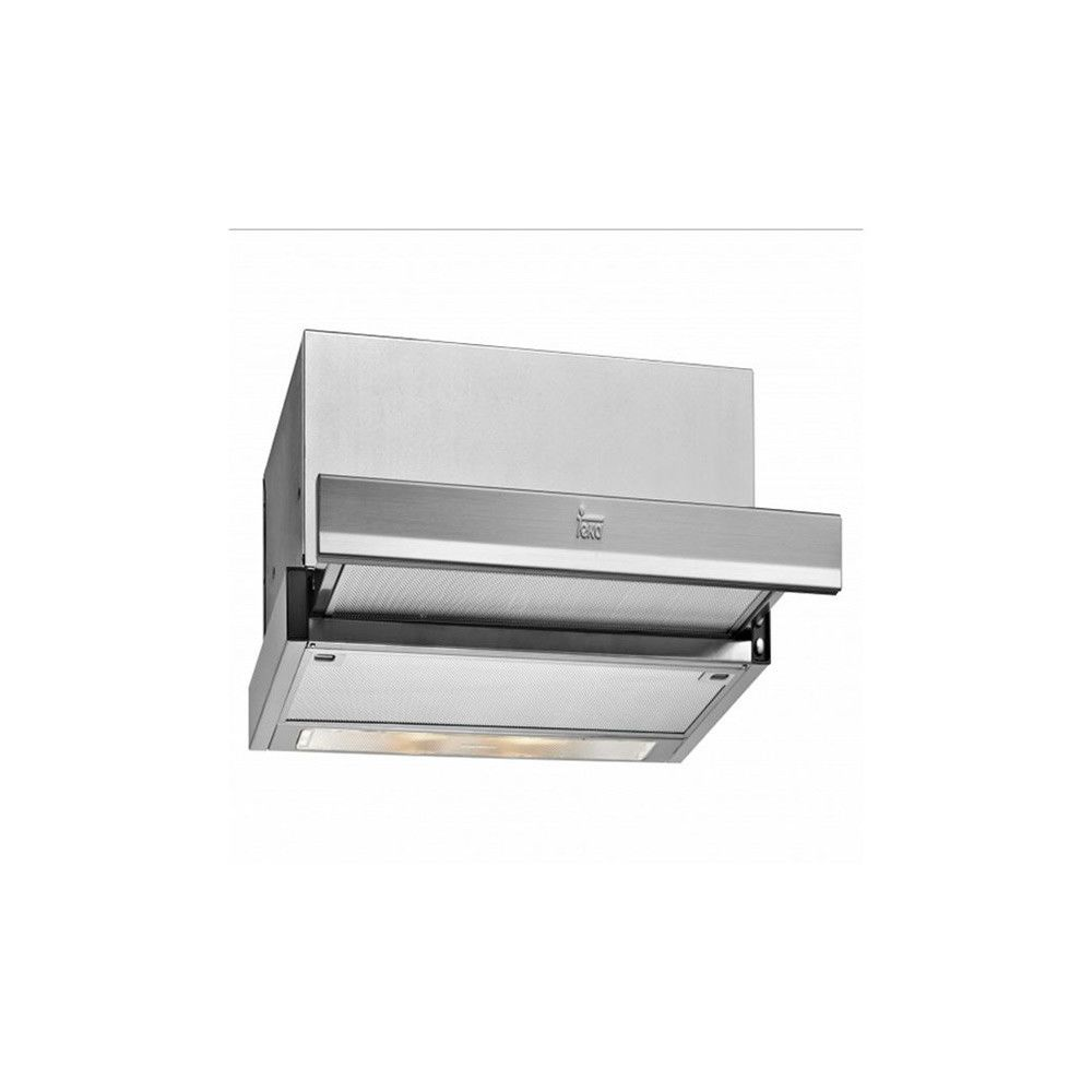 Totalcadeau Hotte en acier inoxydable 60 cm 385 m3/h 64 dB 110W - Hotte de cuisine