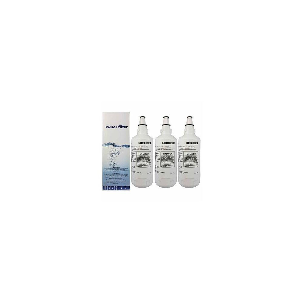 Liebherr Lot de 3 filtres à eaux originaux pour réfrigérateur liebherr