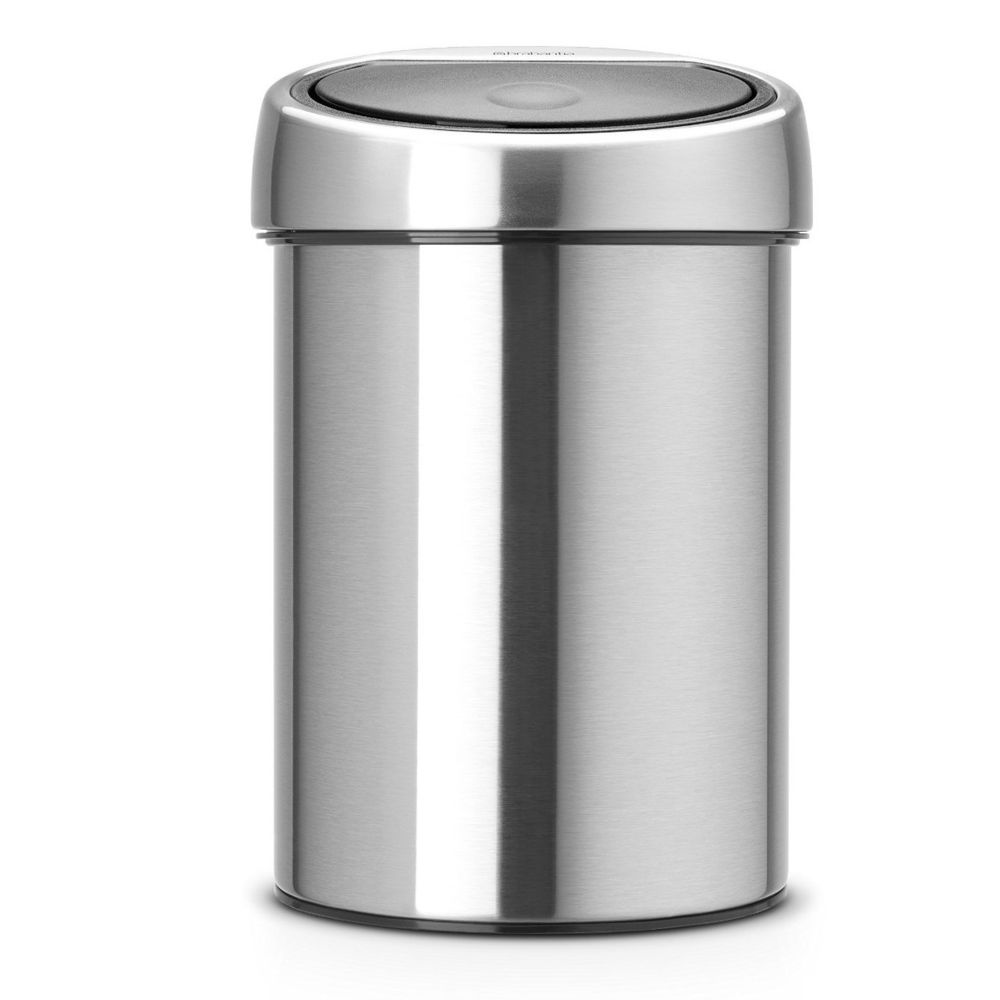 BRABANTIA Touch Bin, 3L - Matt Steel