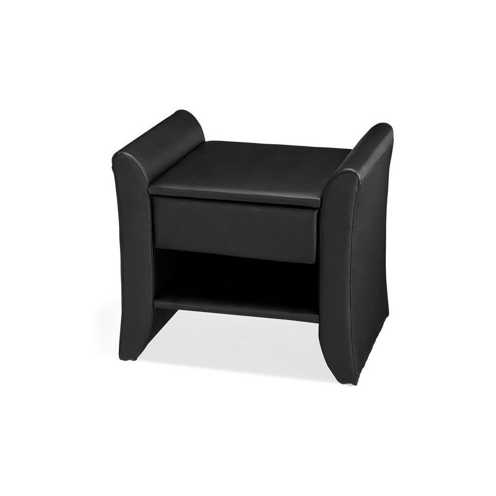 Meubler Design Table de chevet NOVA - Table de nuit - Design - Noir