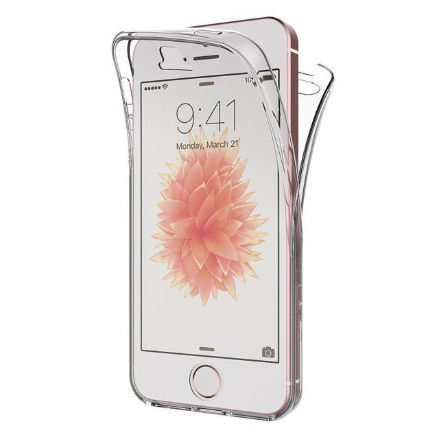 Coque pour Apple iPhone 5 / 5S - Housse Etui Gel TPU Silicone Intégrale(...)