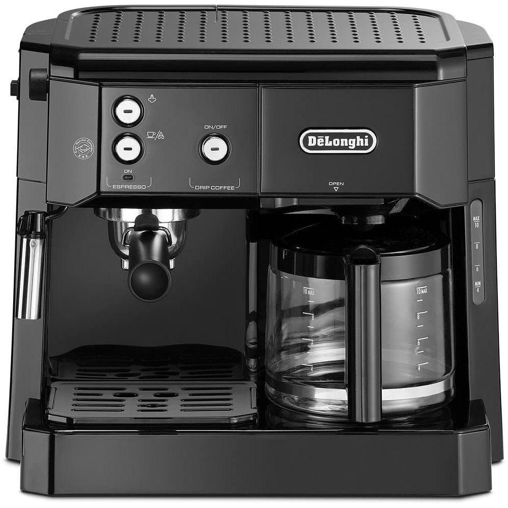 Delonghi machine à expresso combiné cafetière 1750W noir