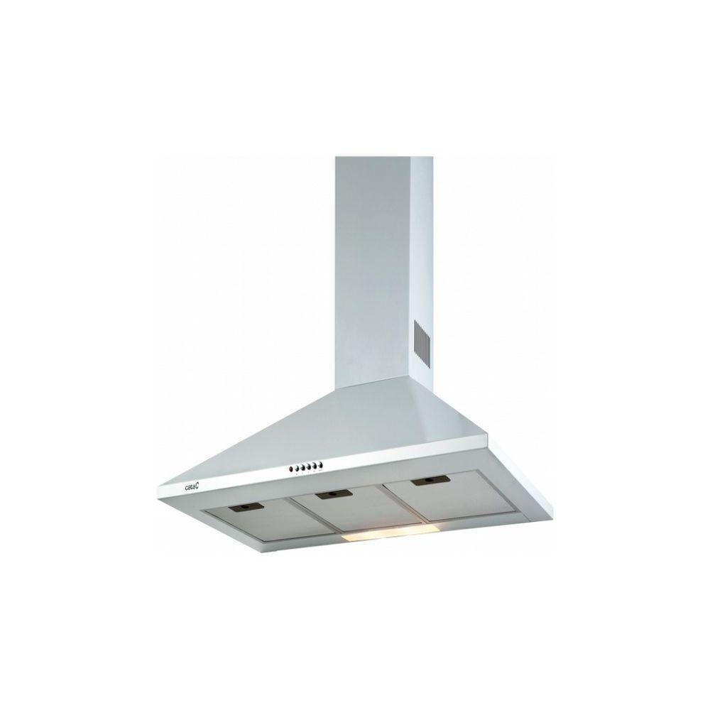Totalcadeau Hotte standard 90 cm 645 m3/h 71,8 dB 270W blanc - Hotte de cuisine 90 x 50 x 68 cm Puissance: 270 W