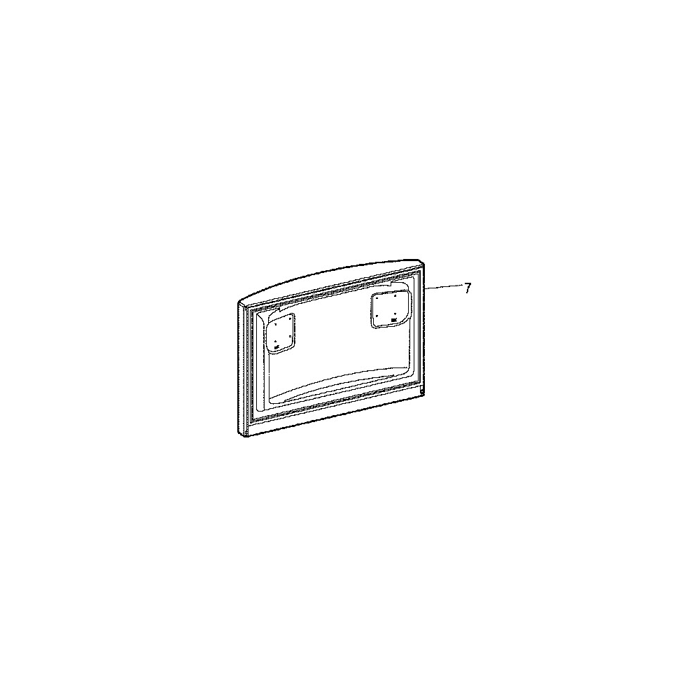 Hotpoint Porte Superieure Congelateur reference : C00276259