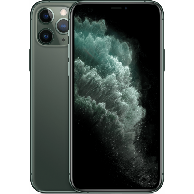 Apple - iPhone 11 Pro - 256 Go - MWCC2ZD/A - Vert nuit Apple   - iPhone 256 go