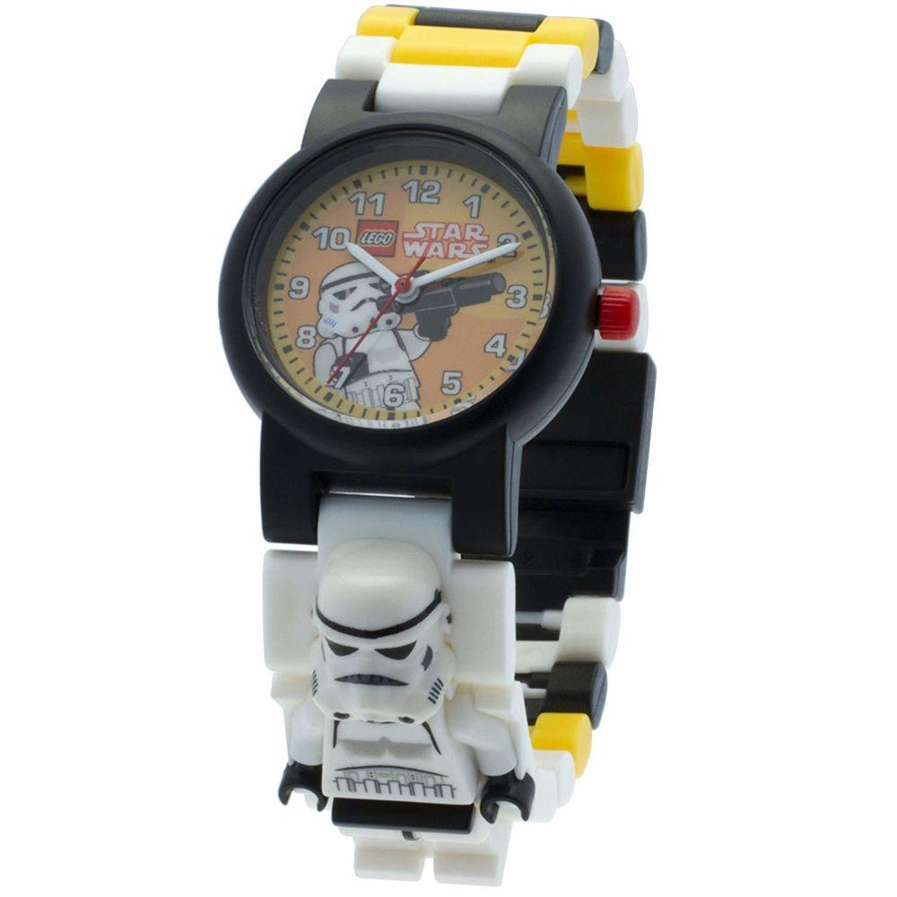 Lego LEGO Star Wars Stormtrooper minifigurine-lien - 8020424 - Montre Enfant - Quartz Analogique - Bracelet Plastique Multico