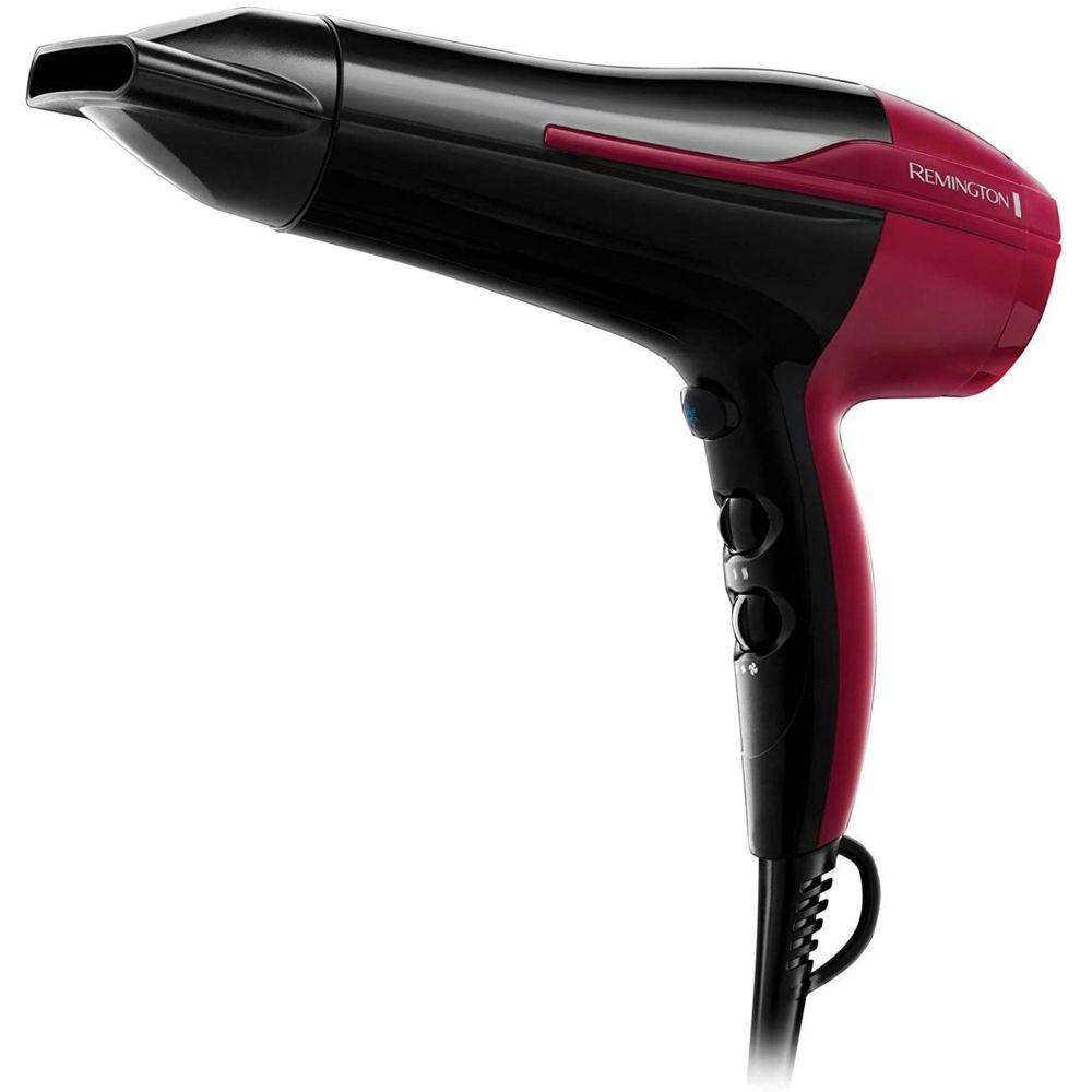 Remington Sèche Cheveux Céramique Ionique 2200W noir rouge