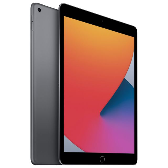 "Apple - iPad 10.2"""" 2020 - WiFi - 32 Go - Gris Sidéral Apple   - Tablette tactile"
