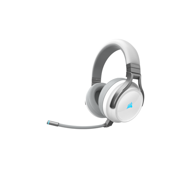 Corsair - VIRTUOSO RGB WIRELESS blanc - Sans fil - Micro casque reconditionné