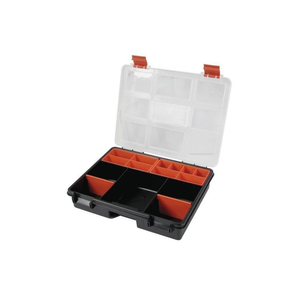 Cogex COGEX Boîte de rangement vide plastique 9 cases