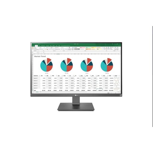 "LG - 27"""" LED IPS - 27UK670-B - Ecran PC 4K"