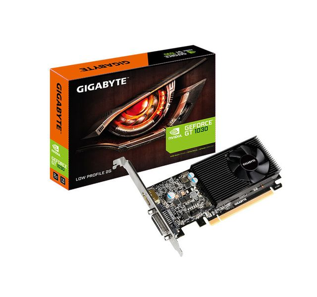 Carte Graphique NVIDIA Gigabyte Geforce GT 1030 - LOW PROFILE - 2 Go