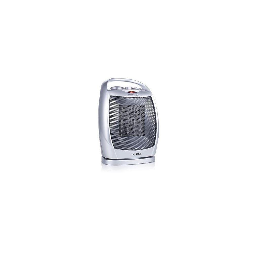 Tristar chauffage électrique céramique avec 3 réglages 1500W gris