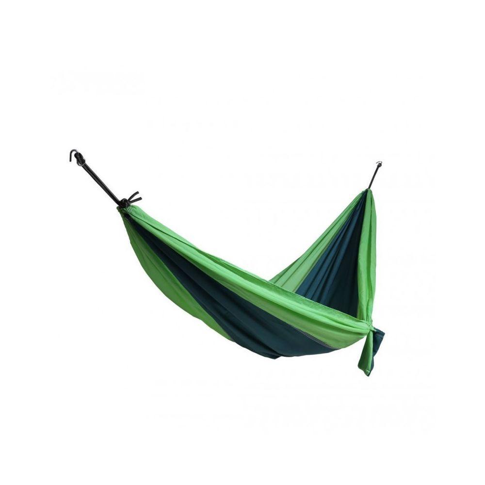 Mobili Rebecca Hamac de voyage ou de jardin vert avec sac