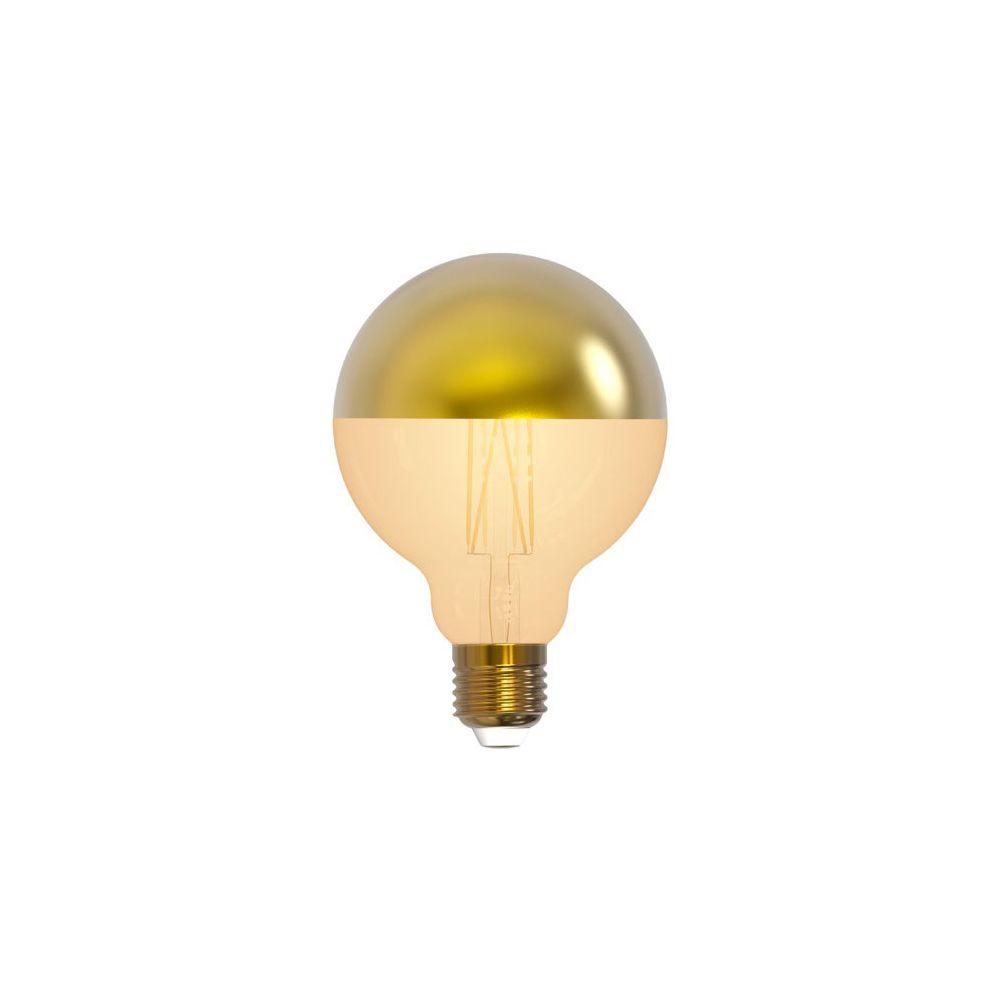 Girard Sudron Globe D95 Filament LED 'Calotte Dorée' 8W E27 2700K 950Lm Dim.