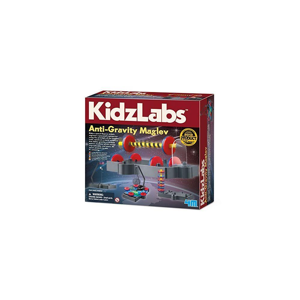 4M 4M Kidzlabs Anti Gravity Magnetic Levitation Science Kit - Maglev Physics Stem Toys Educational Gift for Kids & Teens Gi