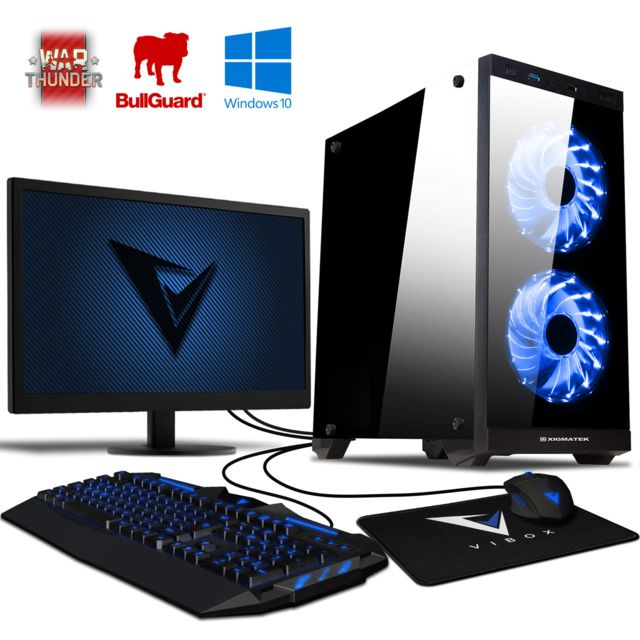 Vibox - Killstreak SA4-51 PC Gamer - Pack PC + Ecran