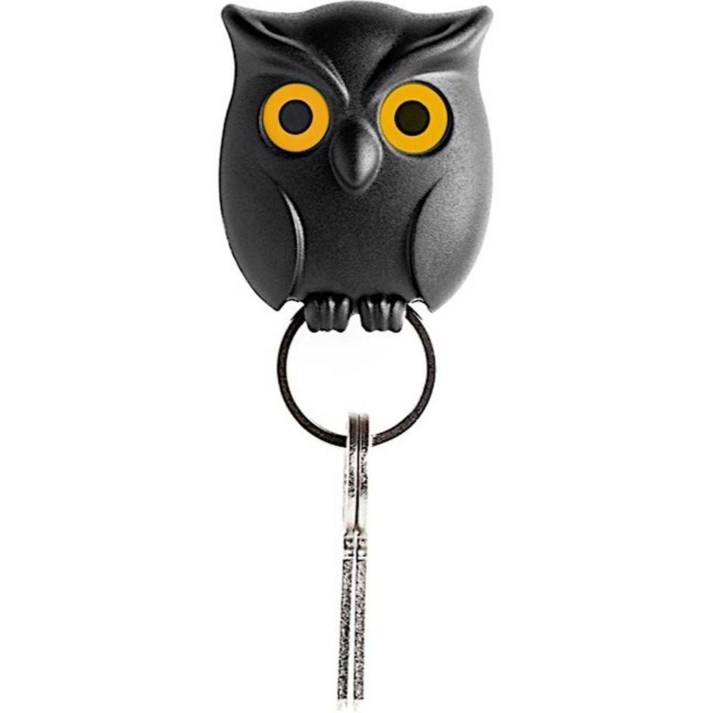 Qualy Design Porte clés hibou Night Owl