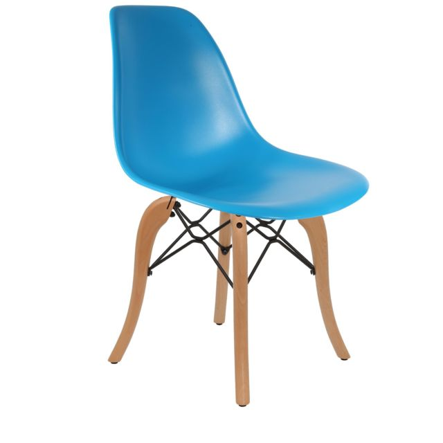 Chaise Privee - Chaise DSW (Couleur: Bleu) - Marchand Chaise privee