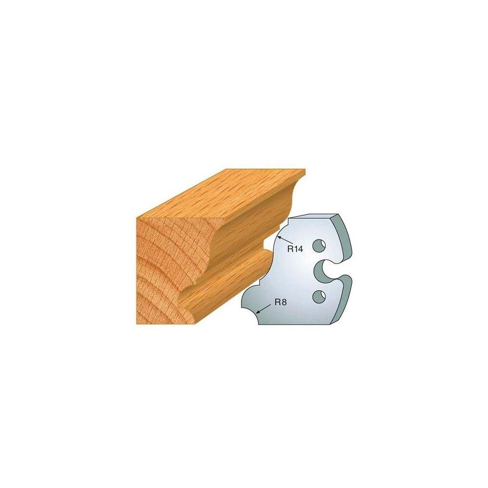 Leman Leman - Jeu de 2 fers profilés acier Ht.50 mm N°235