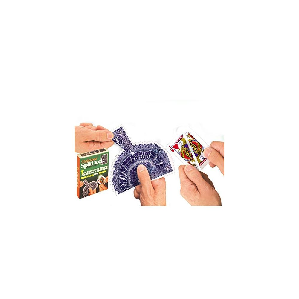 Loftus Loftus Professional Magic Split 375 Trick Card Deck