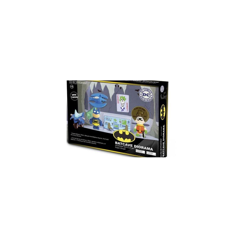 Gamesland DC UNIVERSE - Pate a Modeler - Do It Yourself - Batcave Set
