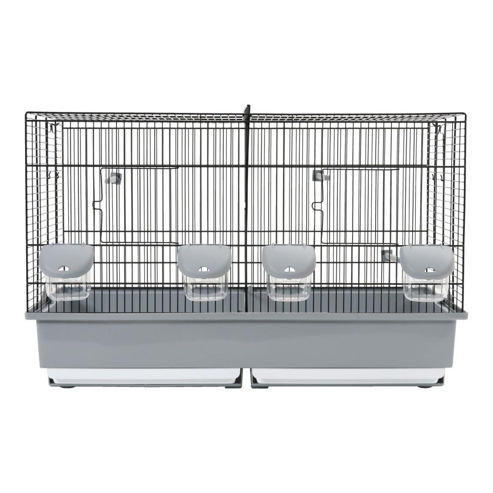 Zolux Cage Elevage 67 noir/gris