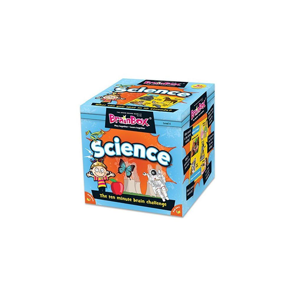 Green Board Games Green Board Games 90046 BrainBox Science