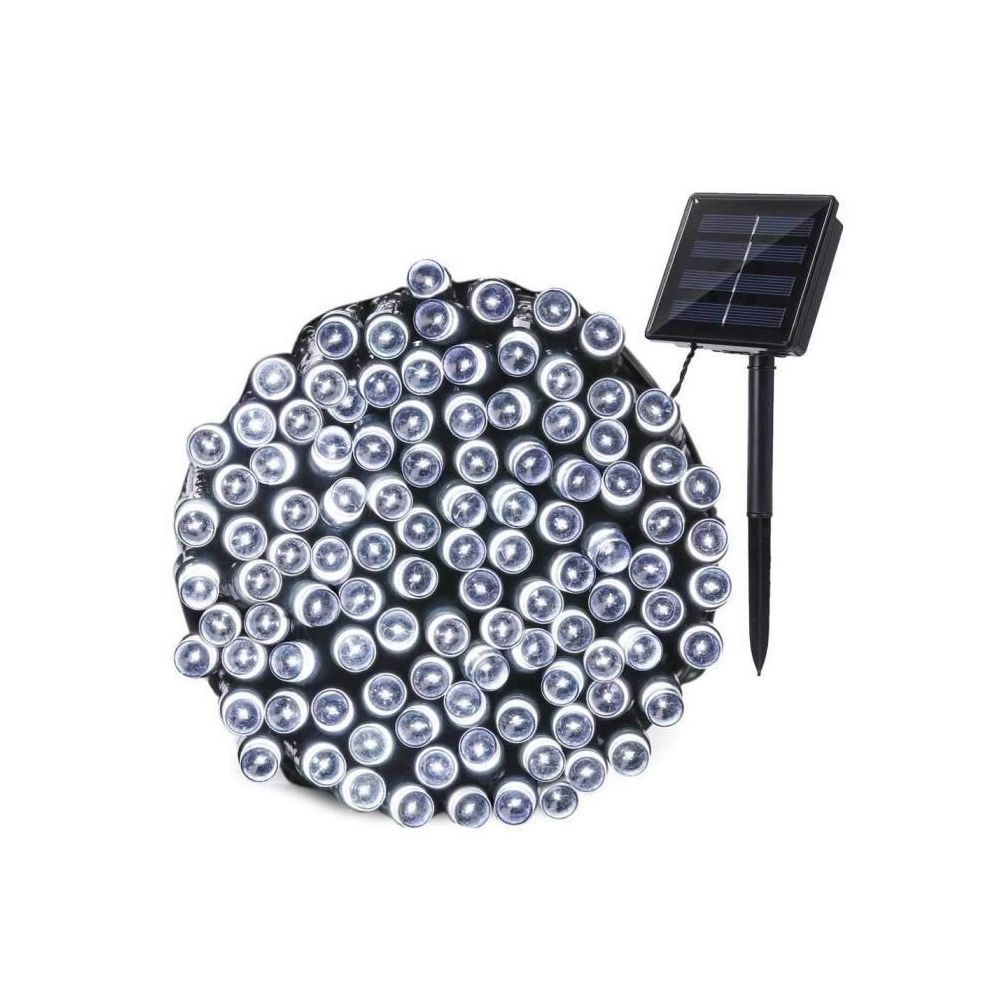 Lumi Jardin LUMI JARDIN Guirlande lumineuse solaire Yogy Solar - Lumiere blanc froid solaire - 200 LED - 1700 cm