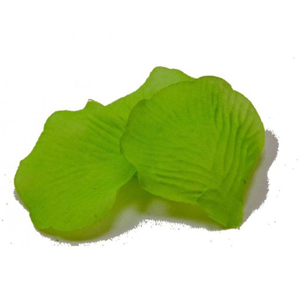 Visiodirect Lot de 1000 Pétales en tissu coloris Vert Fonce - 5,5 x 3,5 cm