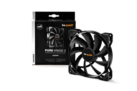 Be Quiet - Ventilateur be quiet! PURE WINGS 2 PWM, 120mm Be Quiet   - Personnalisation du PC