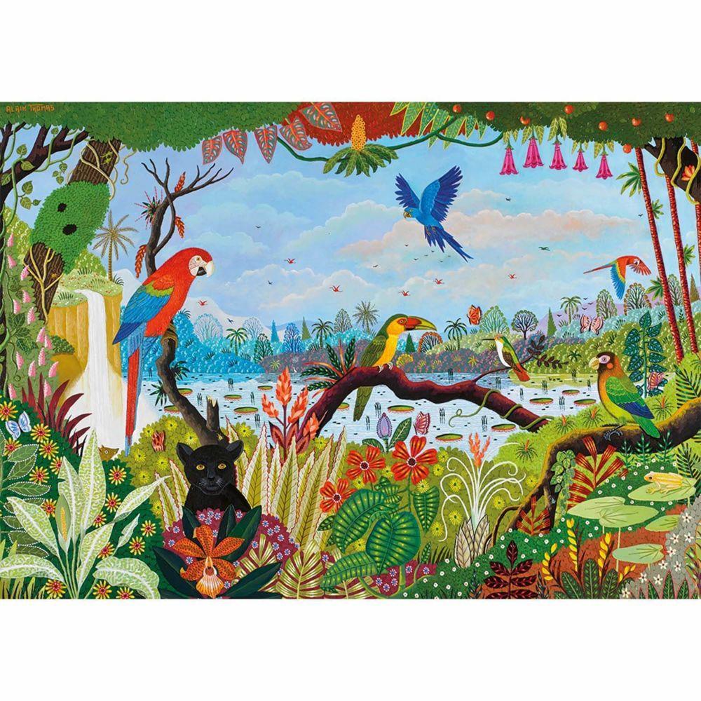 Nathan Puzzle 1500 pièces : Jungle animée